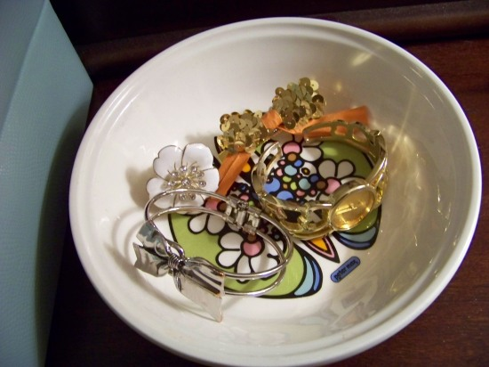 Peter Max jewelry bowl