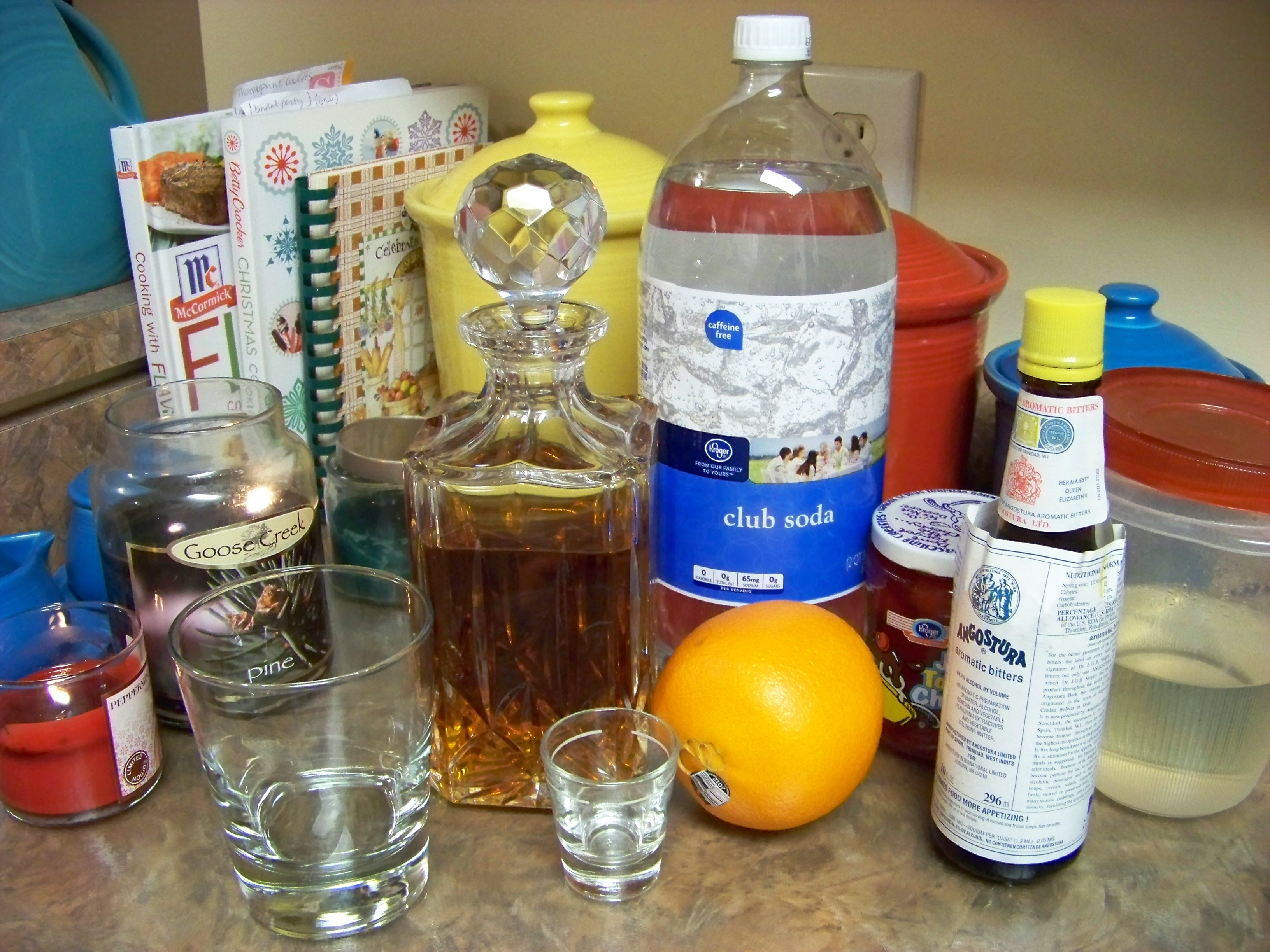 old fashioned ingredients
