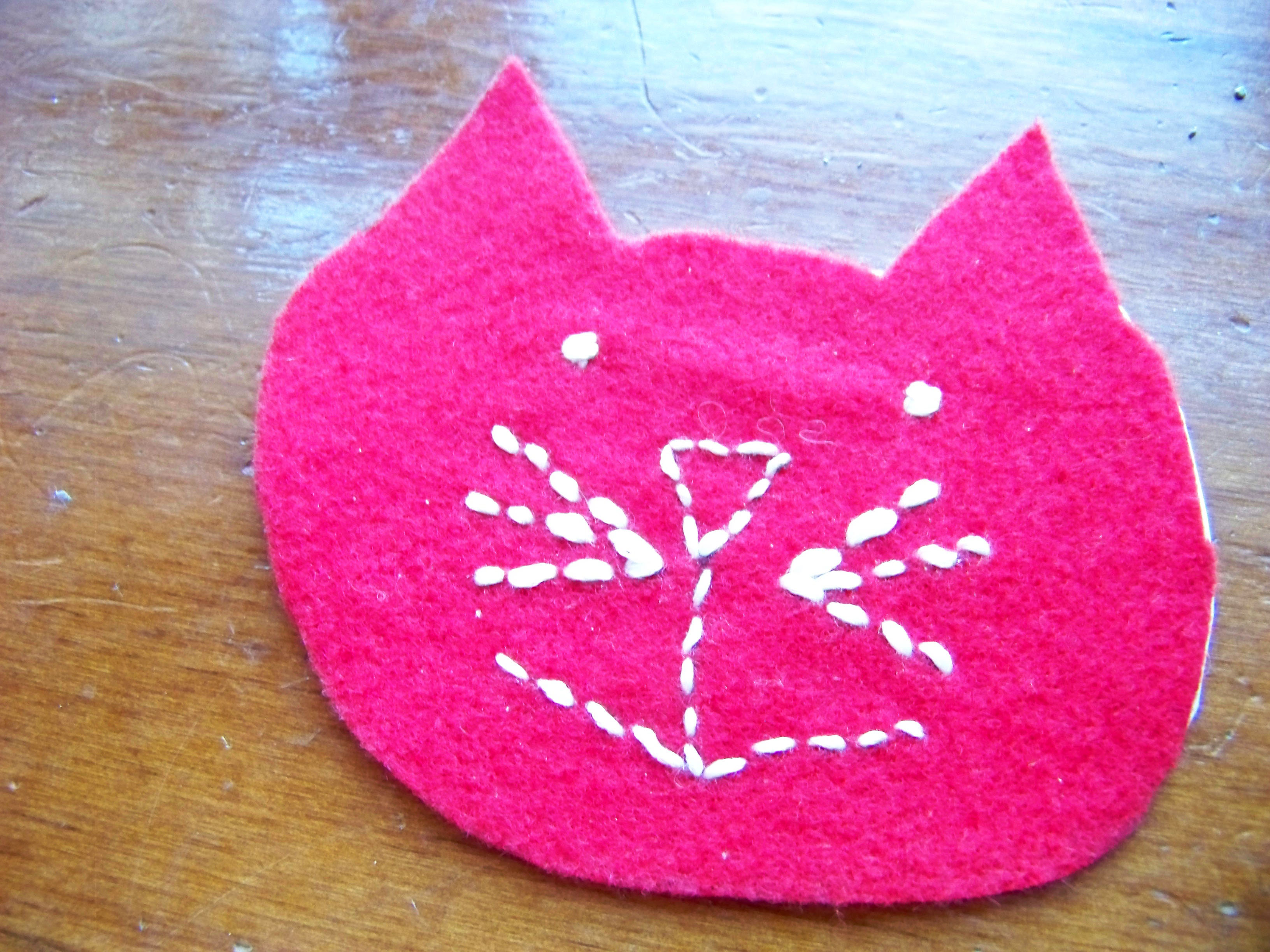 diy valentine cat