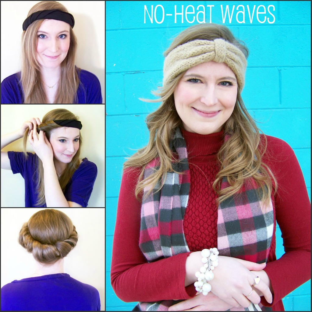 how to get wavy hair with no heat