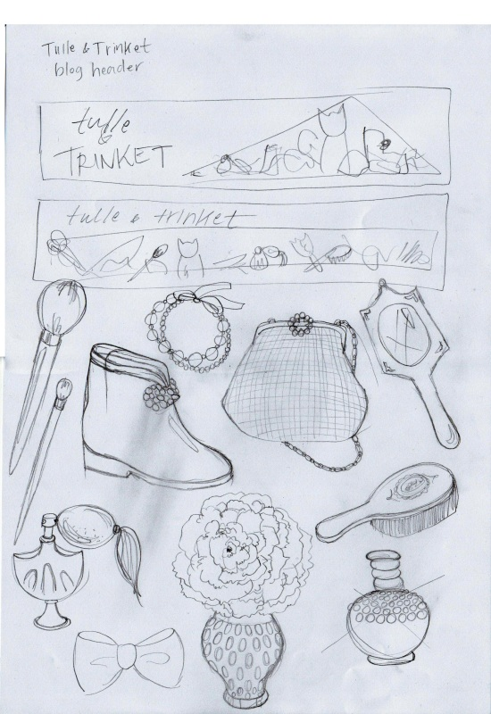 emma kisstina sketches for tulle and trinkets