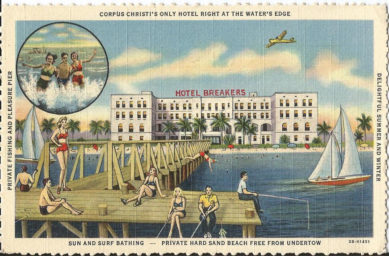 vintage postcard Corpus Christi