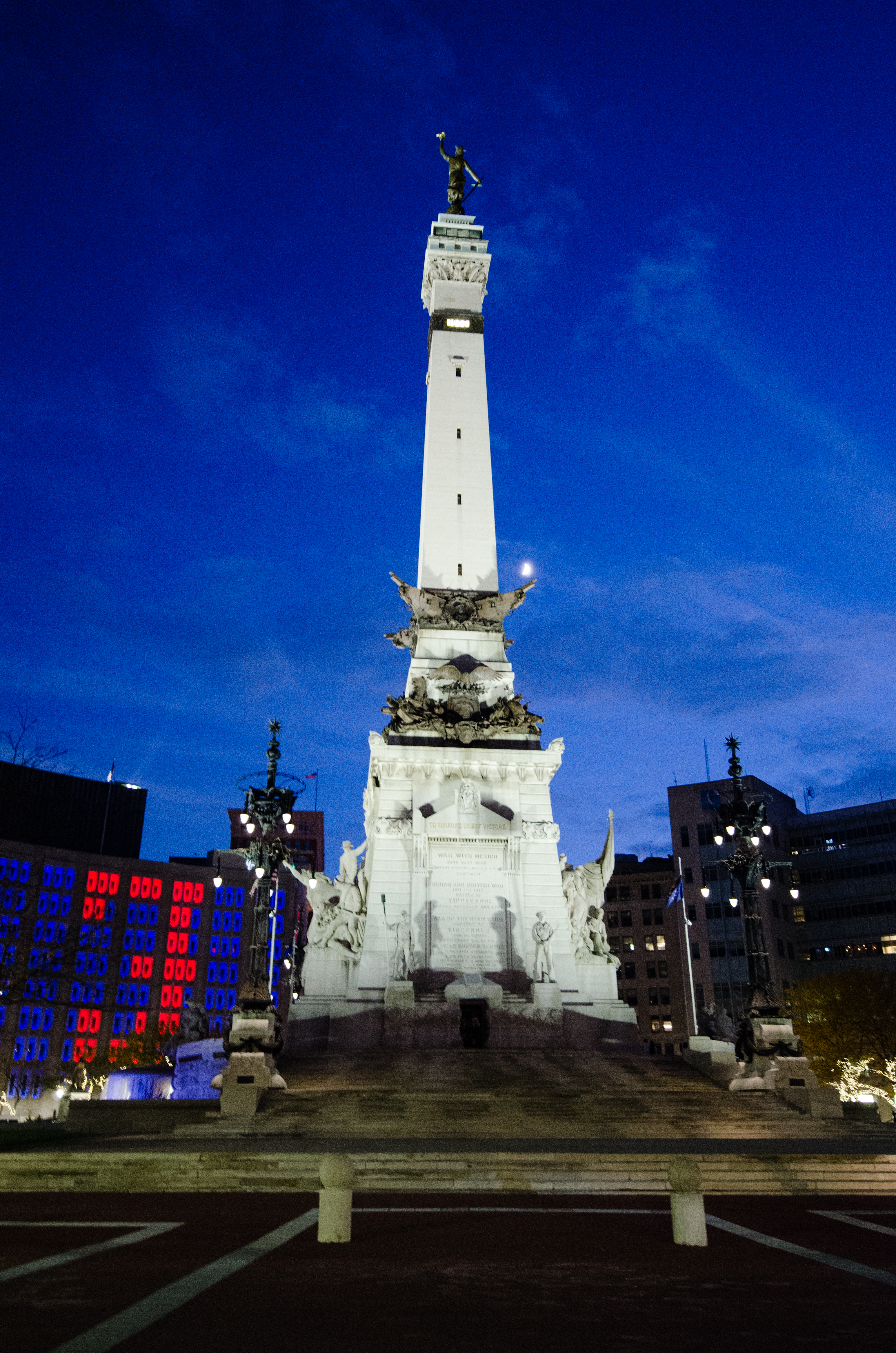Monument Circle Indianapolis, Indiana