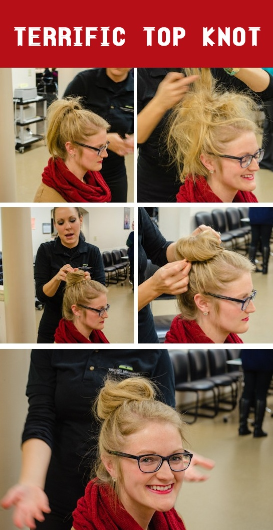 top knot how to