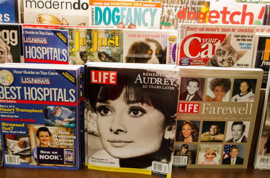 audrey hepburn life magazine