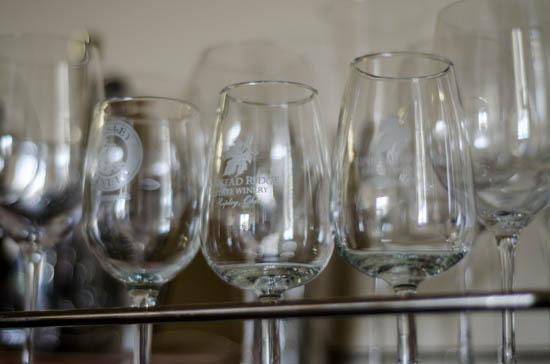 winery souvenir glasses