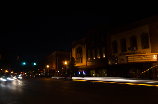 Madison, Indiana at Night