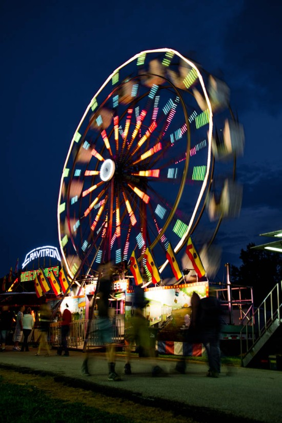 Hancock Country Fair Ferris Wheel