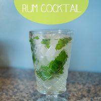 Limonata-Mint Rum Cocktail