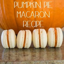 pumpkin pie macaron recipe