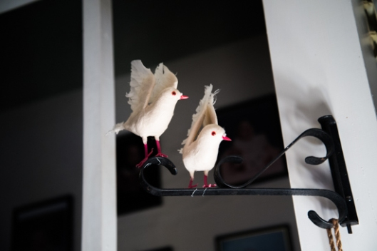 Two Turtle Doves Decoratons