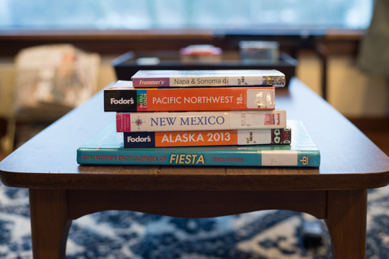 Library Books, American West Travel Books