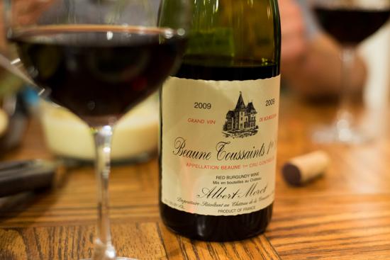 Domaine Albert Morot Beaune 1er Cru Toussaints 2009 Pinot Noir