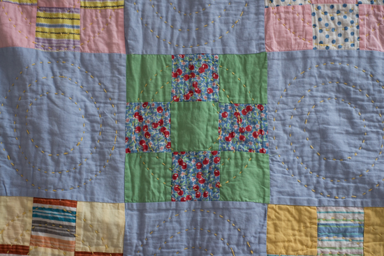 Antique Quilt Square