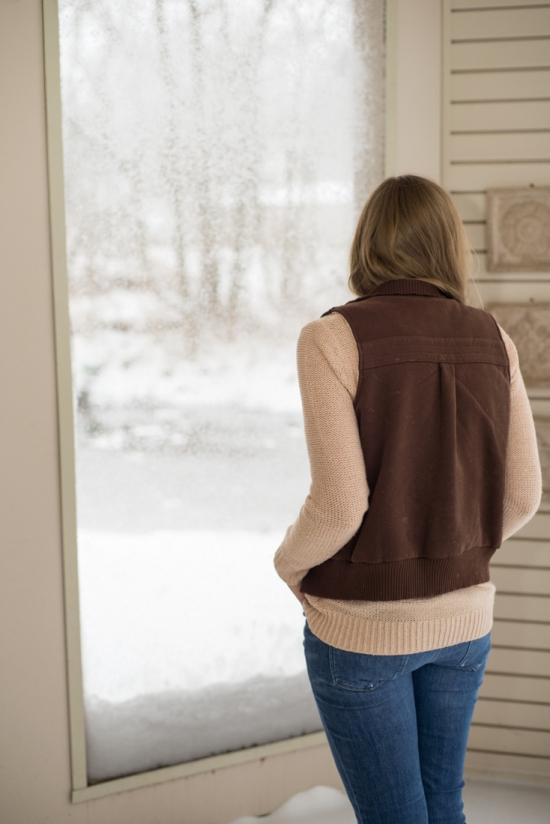 Lauren Conrad Heart Sweater