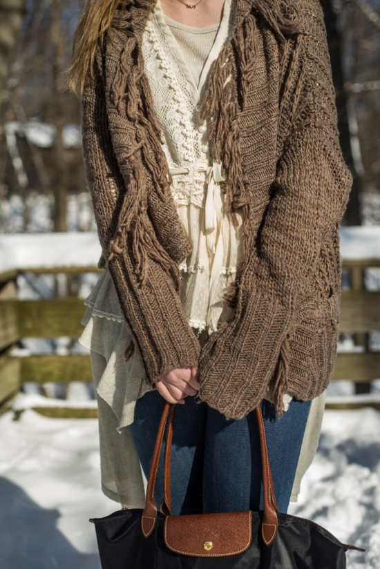 Free People Cardigan, American Rag Lace Vest, Free People Henley