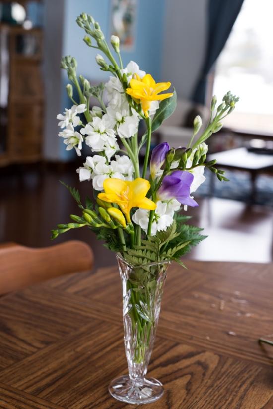 Desktop Floral Arrangement